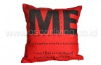 Bantal Sofa Decoration Motif Only Me  Q5